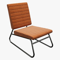 realistic chair 3D model