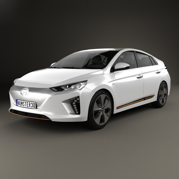 hyundai ioniq electric 3D model