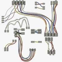 3D model wires set