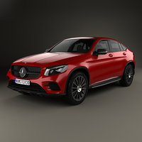 mercedes-benz glc-class glc 3D model