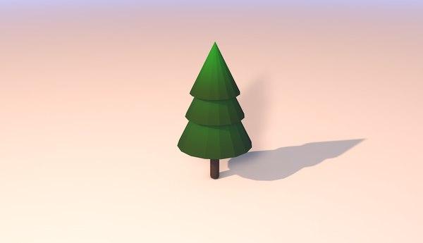 arbol modelo 3D model