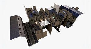 paris city modular - model