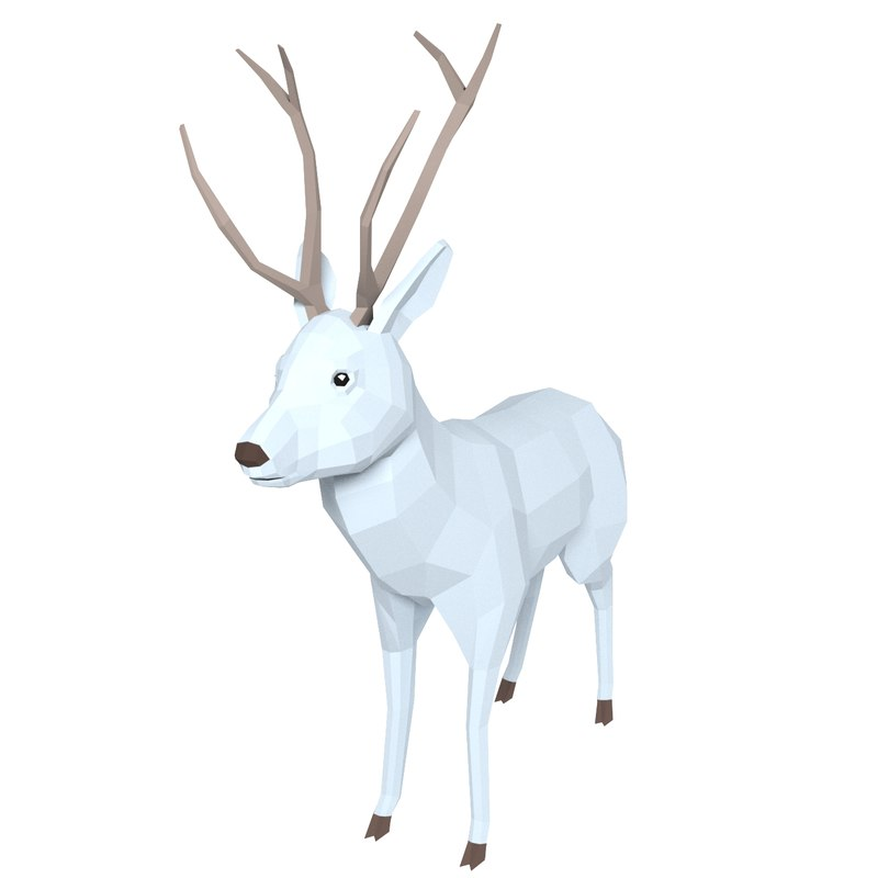 3D deer animation