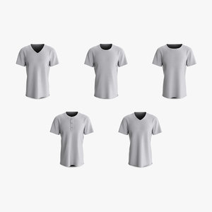 3D cotton male t-shirts short