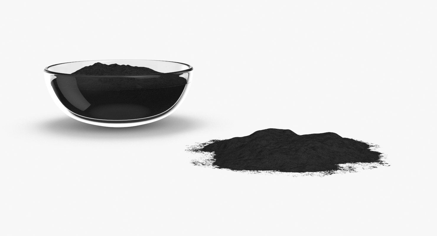 3D powdered-charcoal---group model