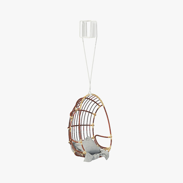 wicker swing 3D