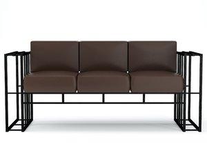 sofa loft 3D model