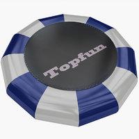 realistic trampoline model