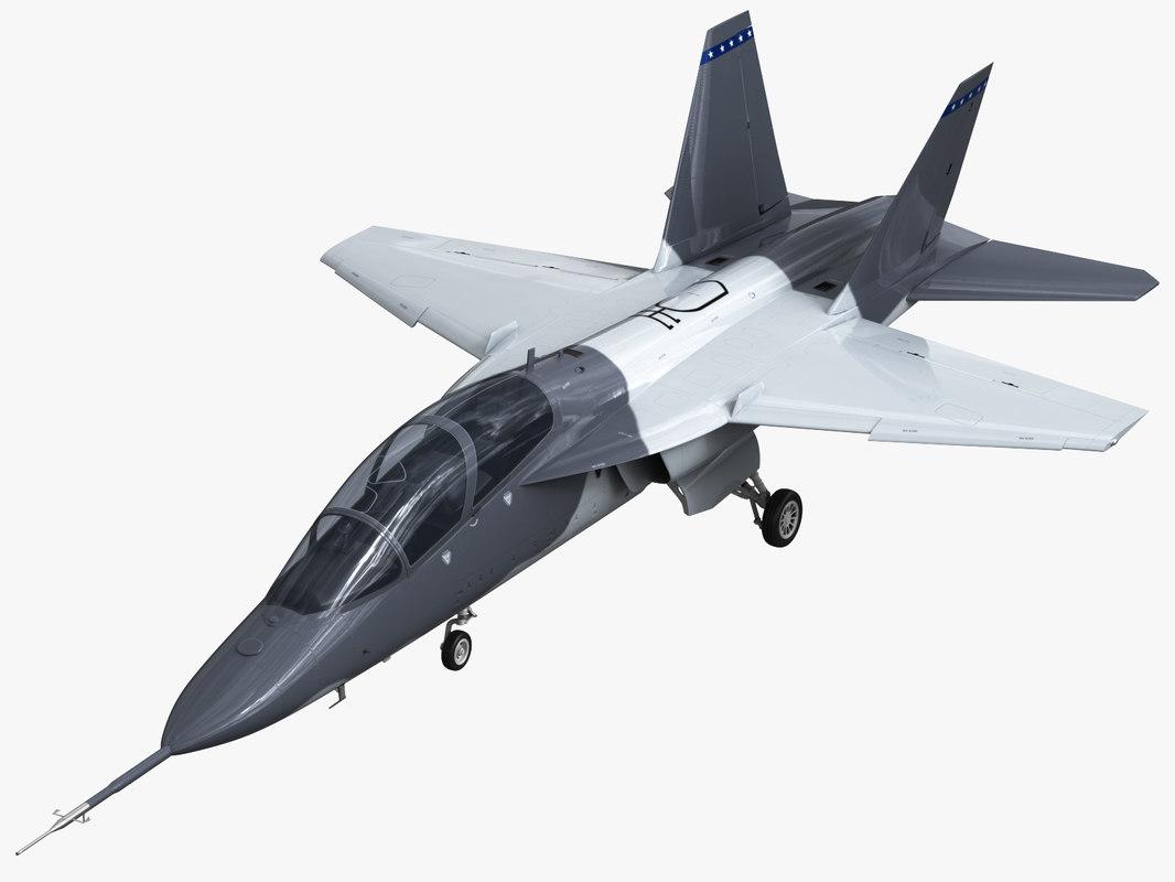 boeing t-x 3D model