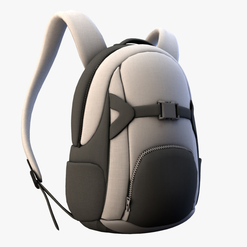 3D pack design model