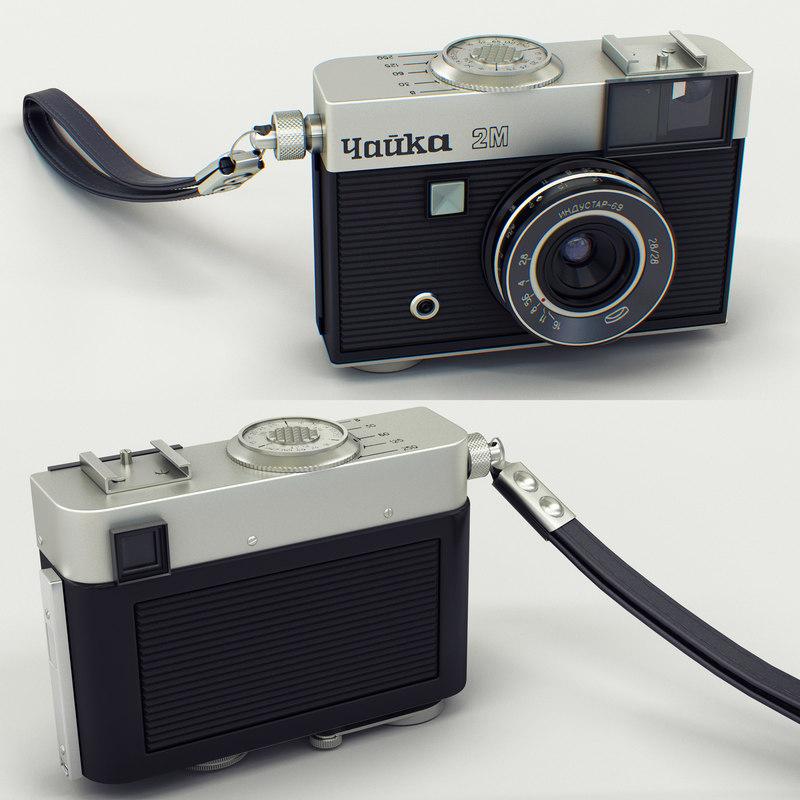 chaika 2m camera lens 3D model