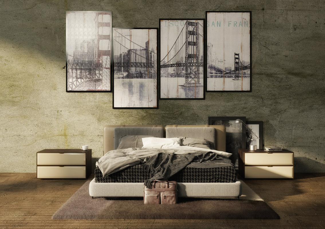 3D flexform bed