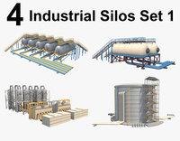 industrial silo model
