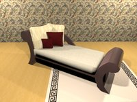 classic sofa 3D model