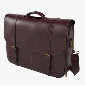 samsonite colombian leather flap-over model