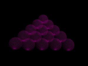 billiard balls bal 3D model