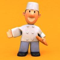 fun baker ! 3D model