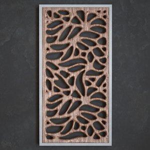 3D model 3dpanel panel