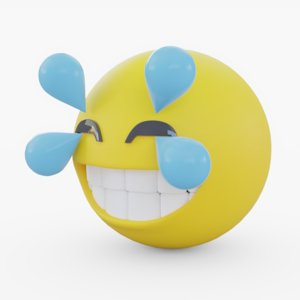 emoji happy model