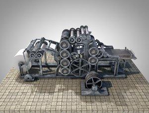 rotary printer machine model
