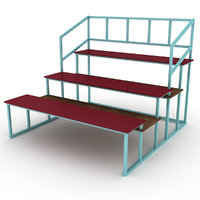 3D model substitutes bench