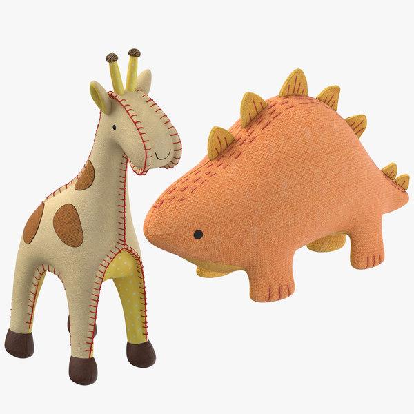 stuffed animals 3D