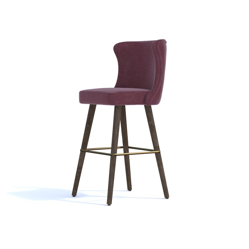 3D model contract chair company bluu