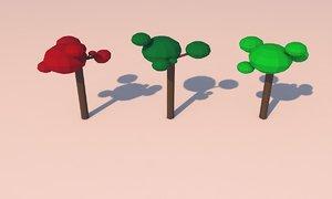 modelo rbol 3D