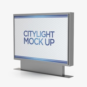 citylight advertising 3D