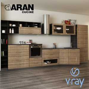 3D kitchen magistra aran cucine
