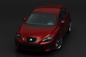 seat cupra leon 3D model