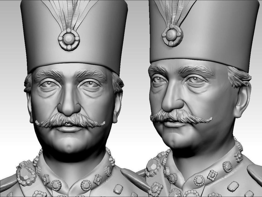 3D king iran