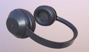 gameready wireless headphones 3D model