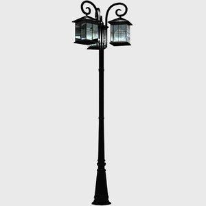 3D model lamp post