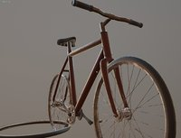 Old Bicycle vehicle ready - Gameready