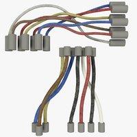 Wires Set V8