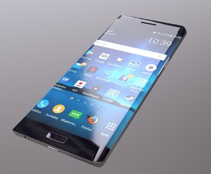 3D smartphone gameready inspired s6 model