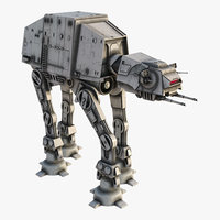 star wars at-at model