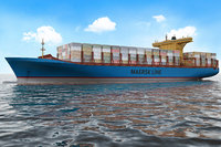 Container Ship Vray (Emma Maersk)