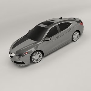 3D acura tlx