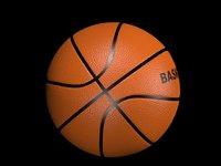 basketball basket ball 3D model