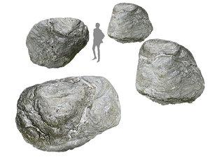 river boulder 16 k model