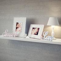 baby sweet frame 3D model