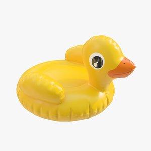3D model duck 01