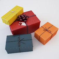 3D colorful gift boxes