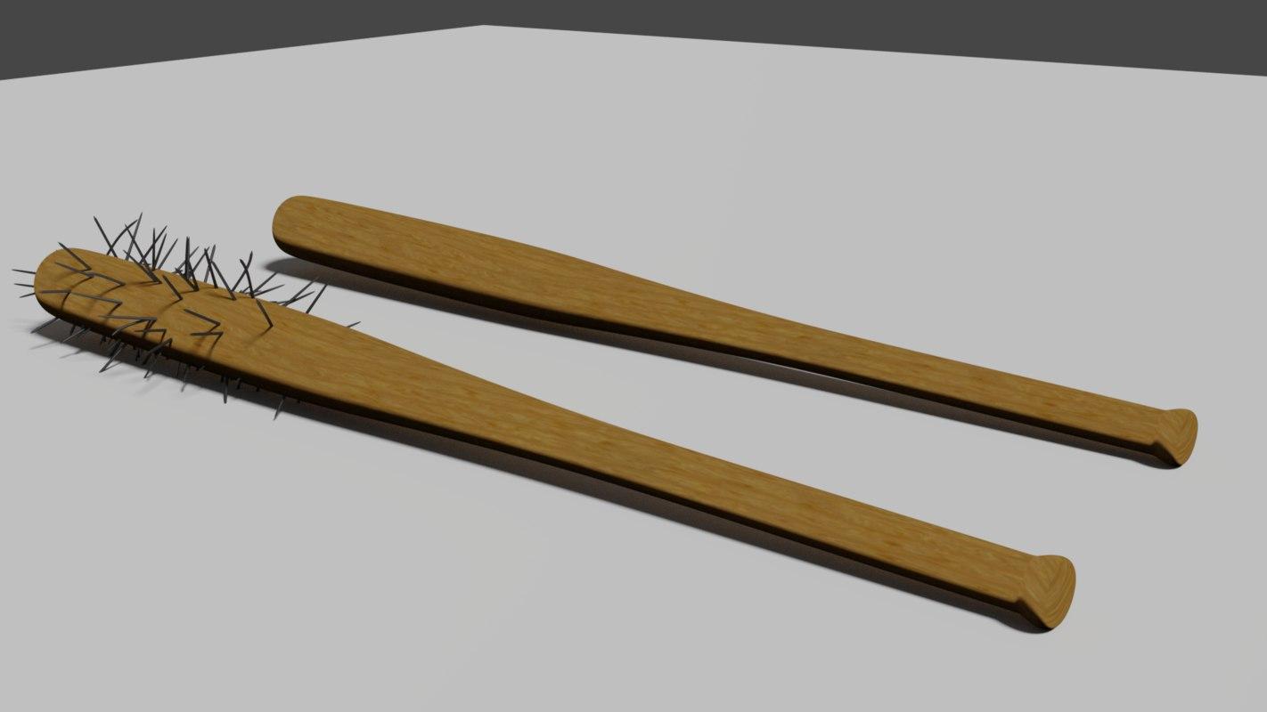 3D spiked bat model