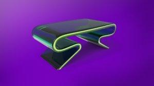 3D modern desk model