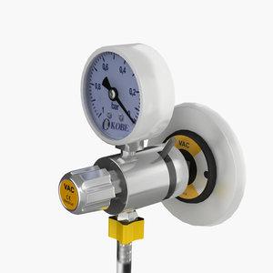 3D vac flowmeter