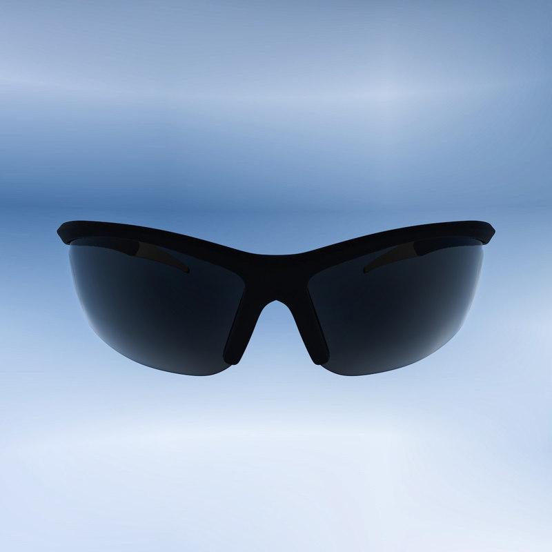 3D model modern sun glasses uv