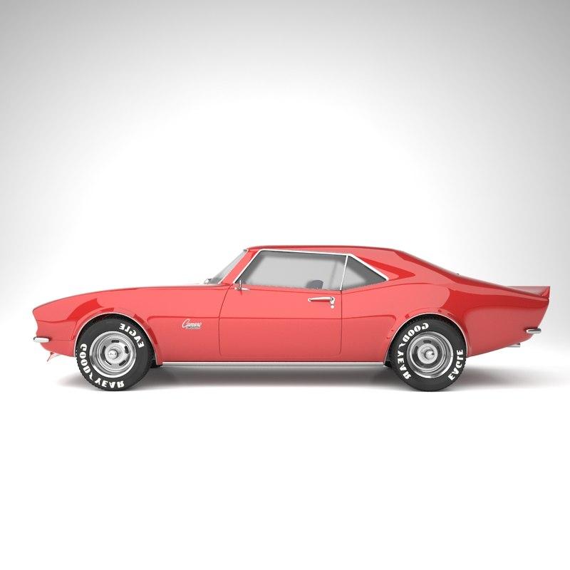 camero 1968 3D